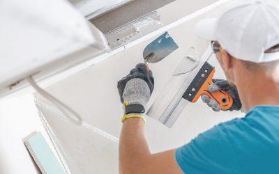 Building Drywall Ceiling